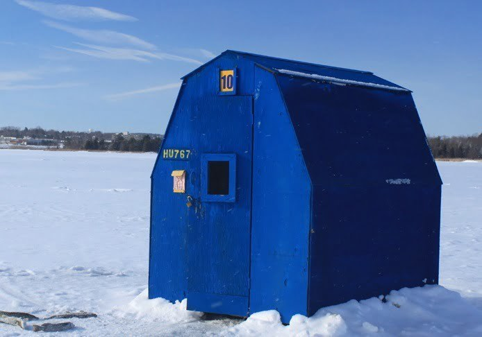 best ice hut
